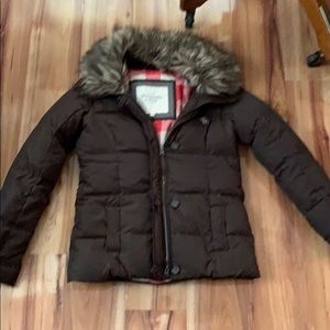 Abercrombie and Fitch woman's down coat size s